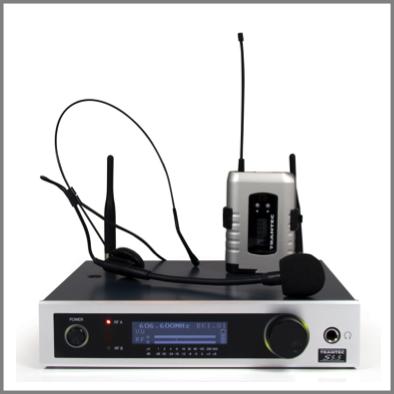 Trantec S5 5 Channel Kit Headworn Or Lapel Magnum Sound